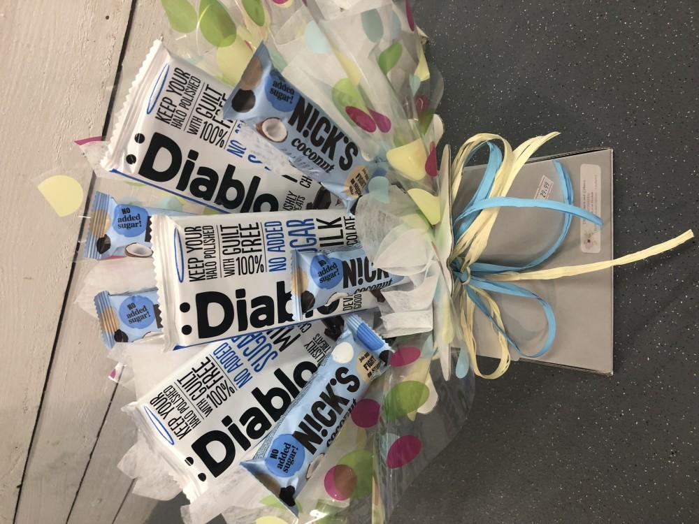 Diabetic chocolate bouquet